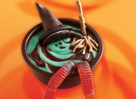 Melting Witch Pudding cup