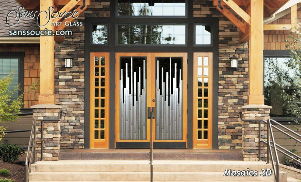 Exterior Glass Doors Mosaics 3d By Sans Soucie Home Decor