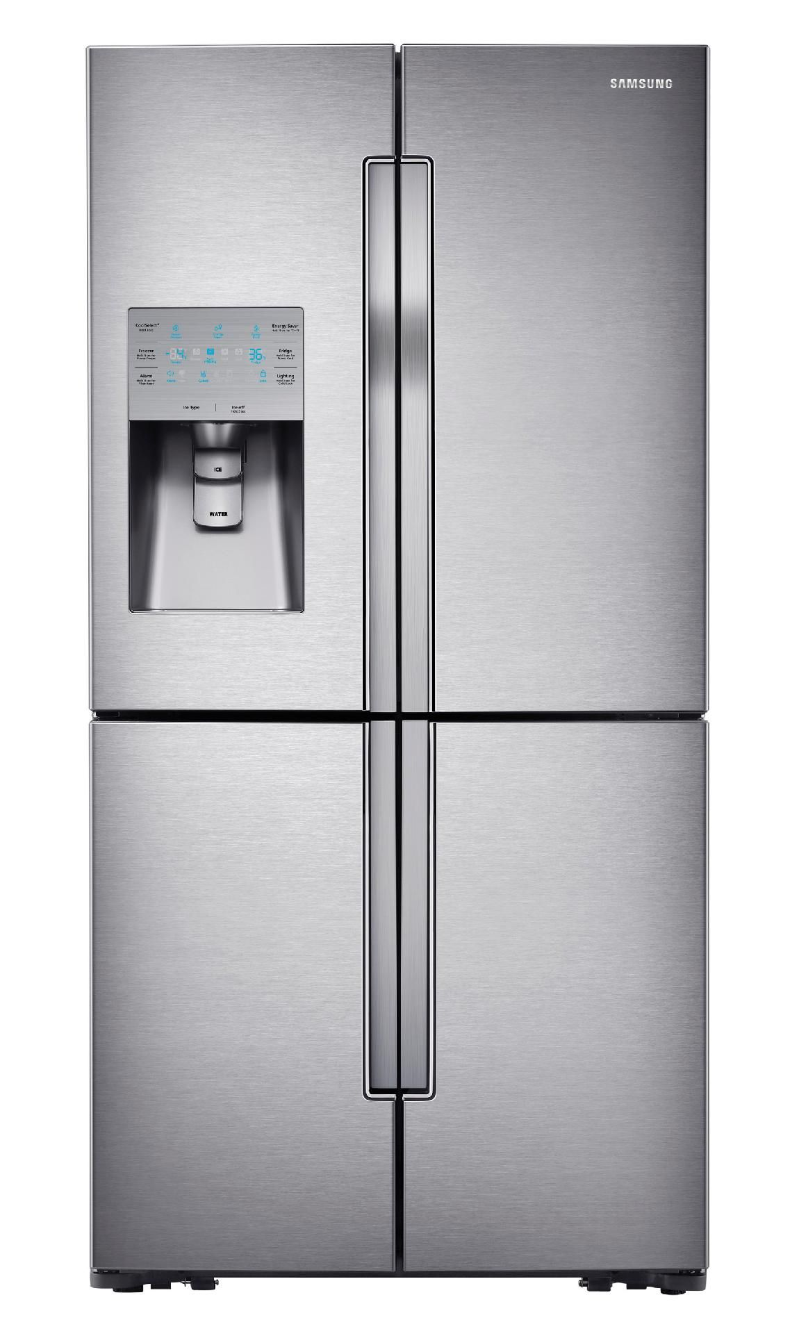 Samsung door refrigerator rffmqdbsr cu ft in stainless
