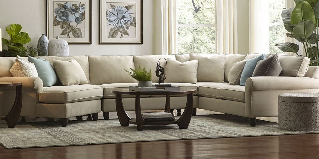 Havertys Amalfi Sectional Sofa Sectional Sectional Sofa Couch