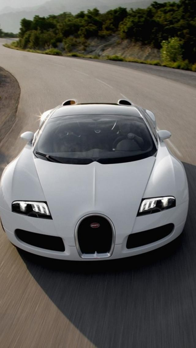 Bugatti Veyrons Supercar White Cars Iphone Wallpapers Hd