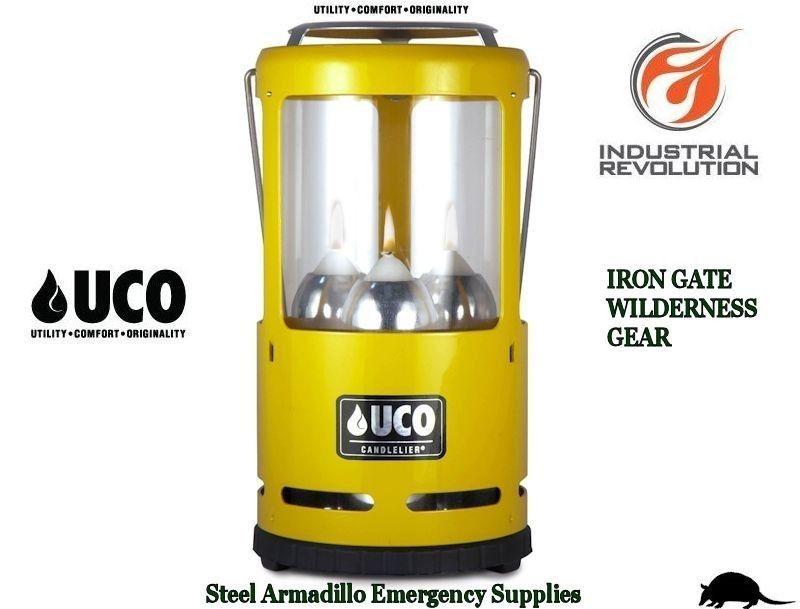 UCO Candlelier Candle Lantern Yellow Aluminum Candlelier® Candle Lantern | eBay