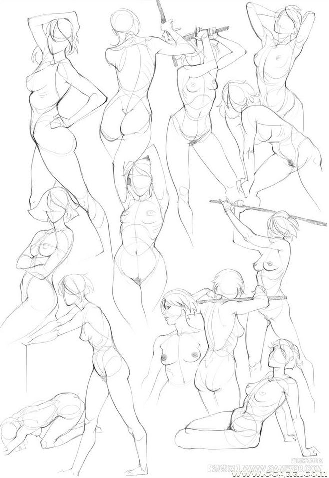 Obras de arte del cuerpo femenino ~ | gesture 2 | Pinterest | Arte ...