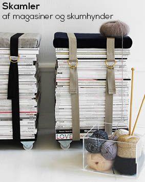 Skum - skammel med magasiner