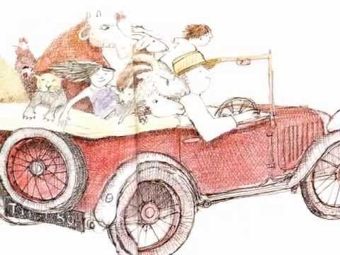"▶ ""Mr Gumpy's Motor Car"" by John Burningham - YouTube"