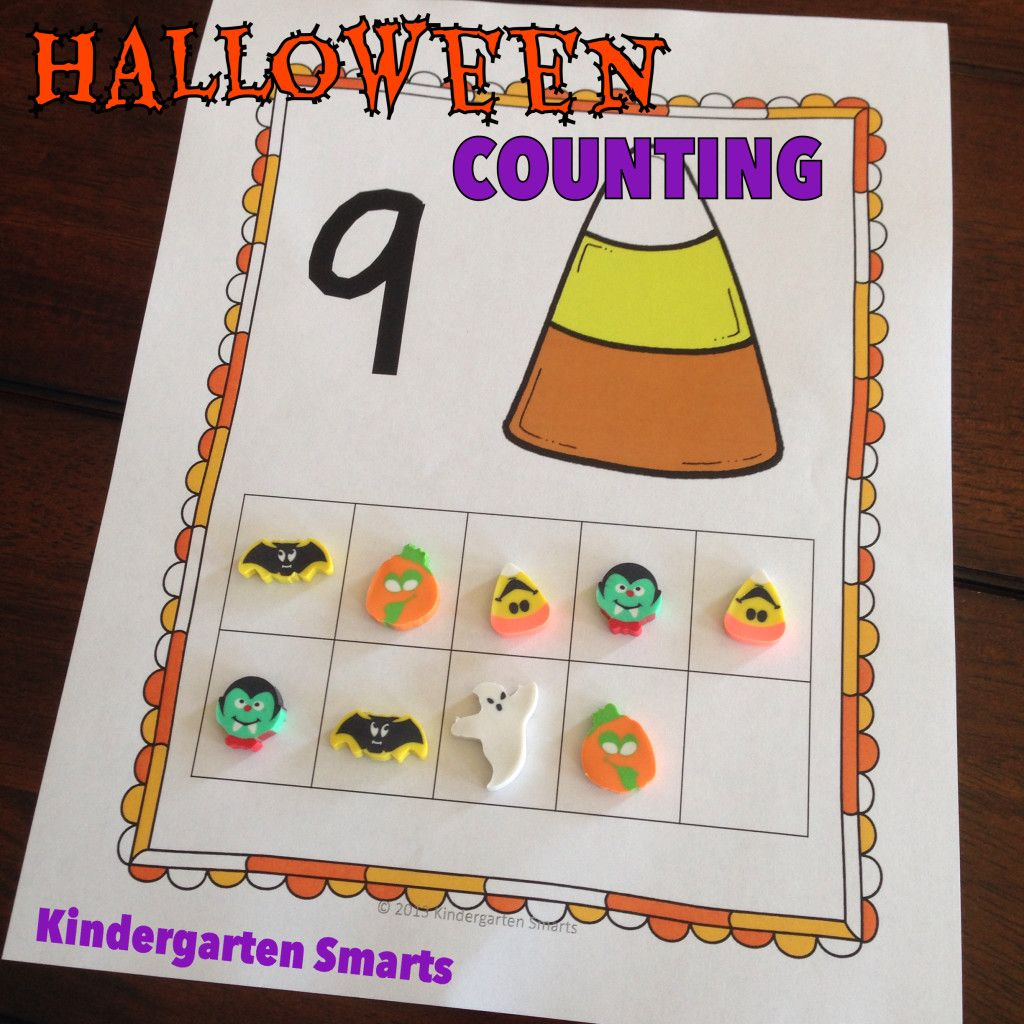 Halloween And Fall Counting Freebie