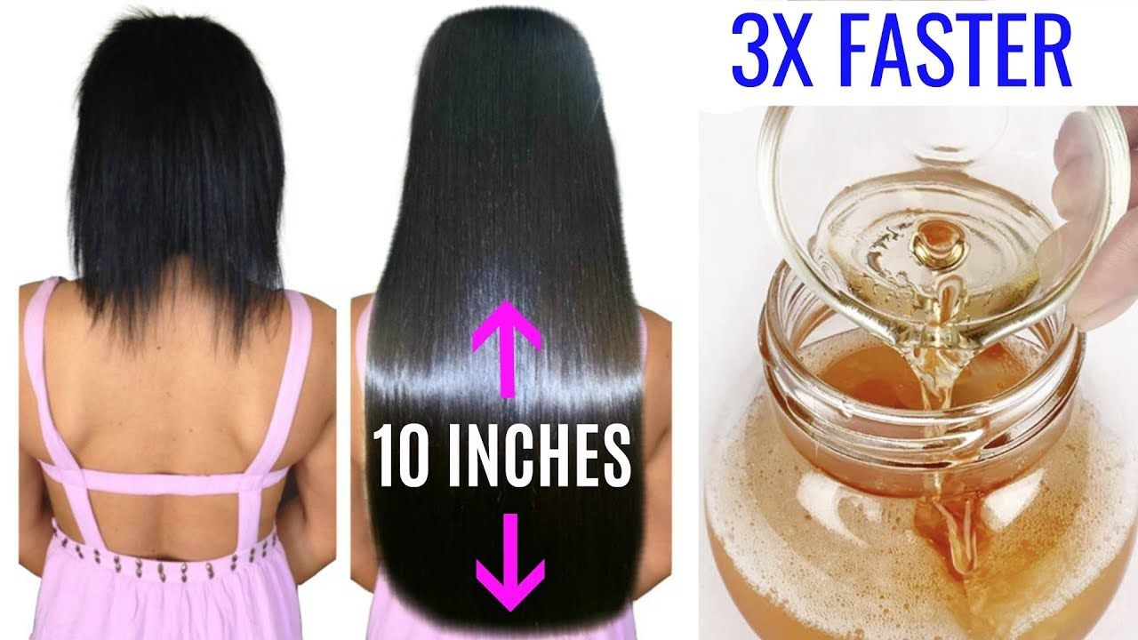 right way to grow your hair 3 times faster | hair | pinterest | fast