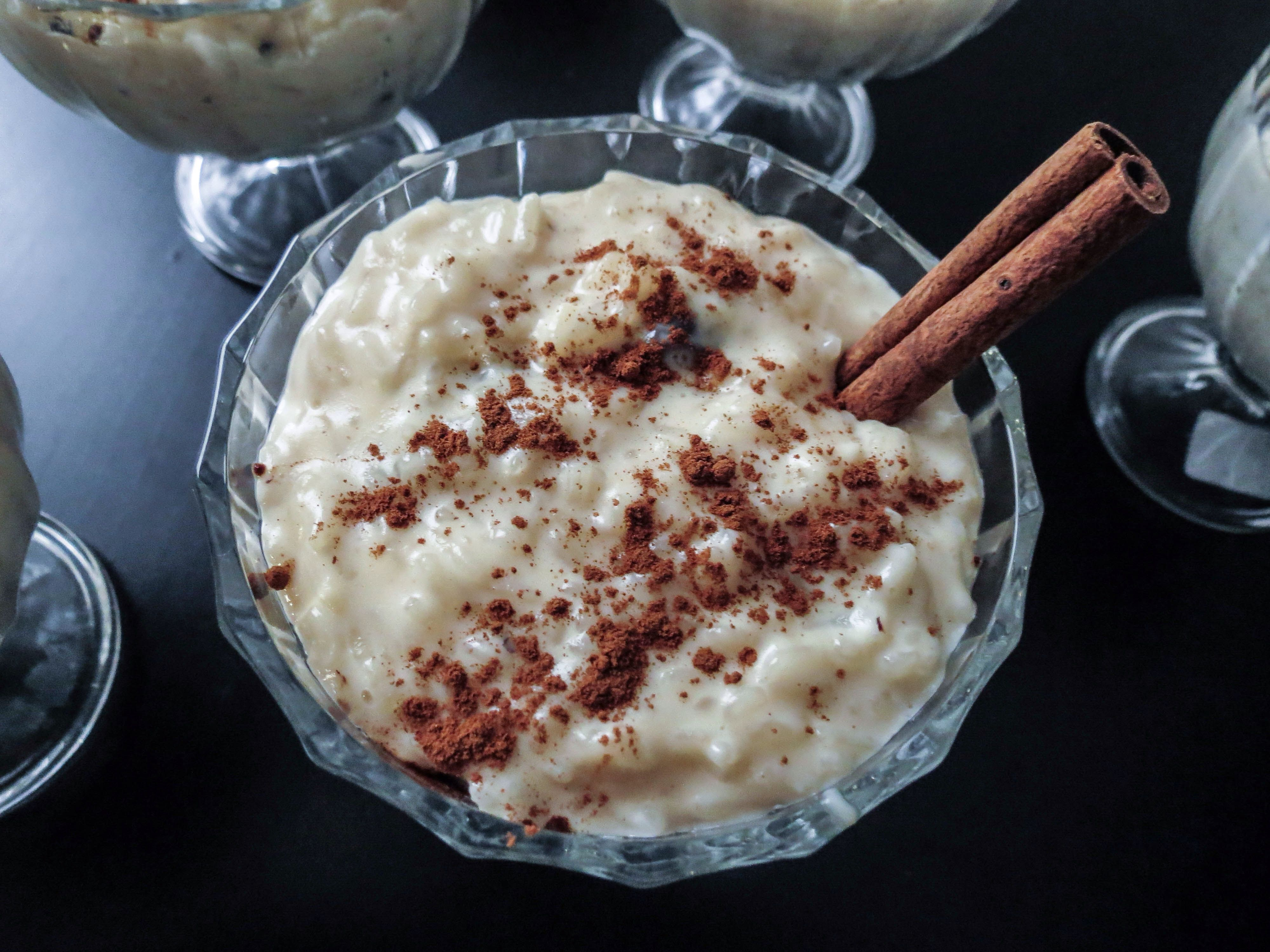 Costa Rican Rice Pudding Arroz Con Leche A Typical Costa Rican Dessert Sweet Delicious And