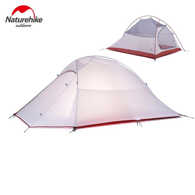 Naturehike 2 Personen Zelt 4 Saison Camping Zelt Ultraleichtes Backpacking Zelt