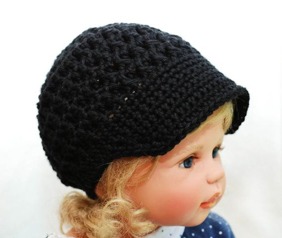 b26a03c2 Crochet brim hat cloche beanie Size 0 3 6 by BitofWhimsyCrochet, $18.00