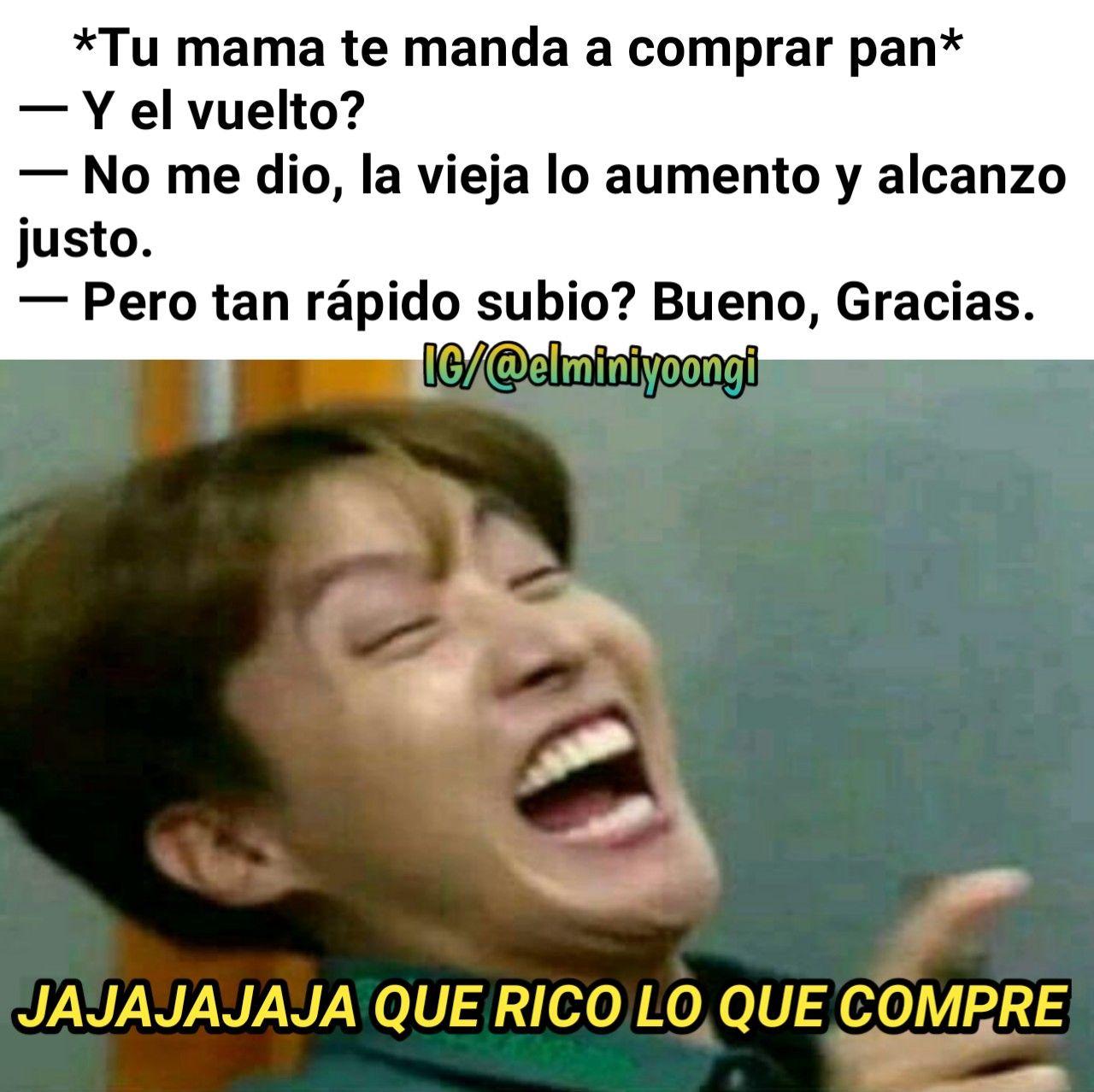 Memes De Bts Espanol 2018 En Instagram Elminiyoongi Memes Bts Espanol Memes Memes En Espanol