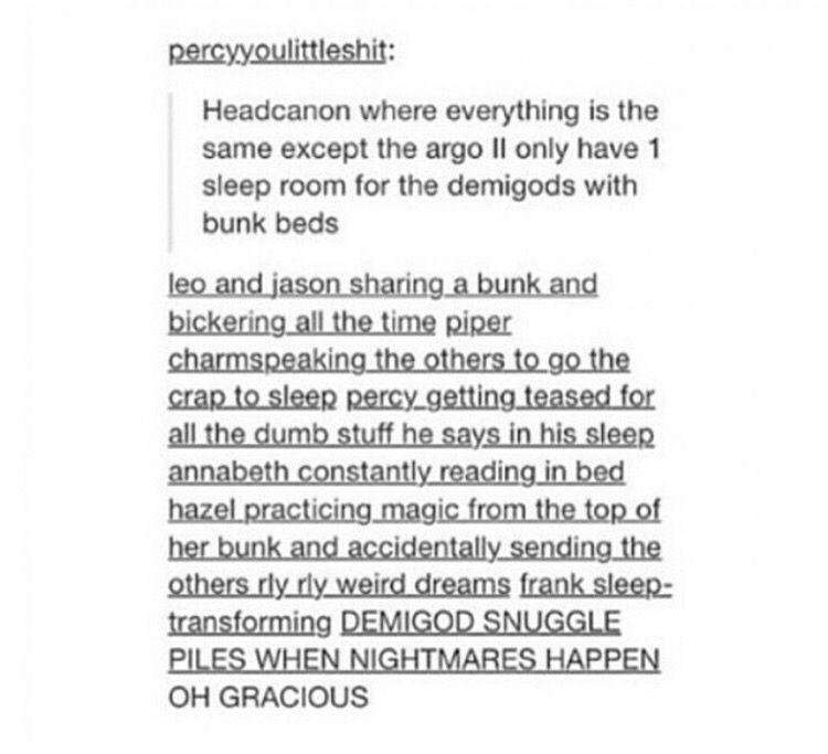 Jason:can u turn of that light I'm trying to sleep Annabeth