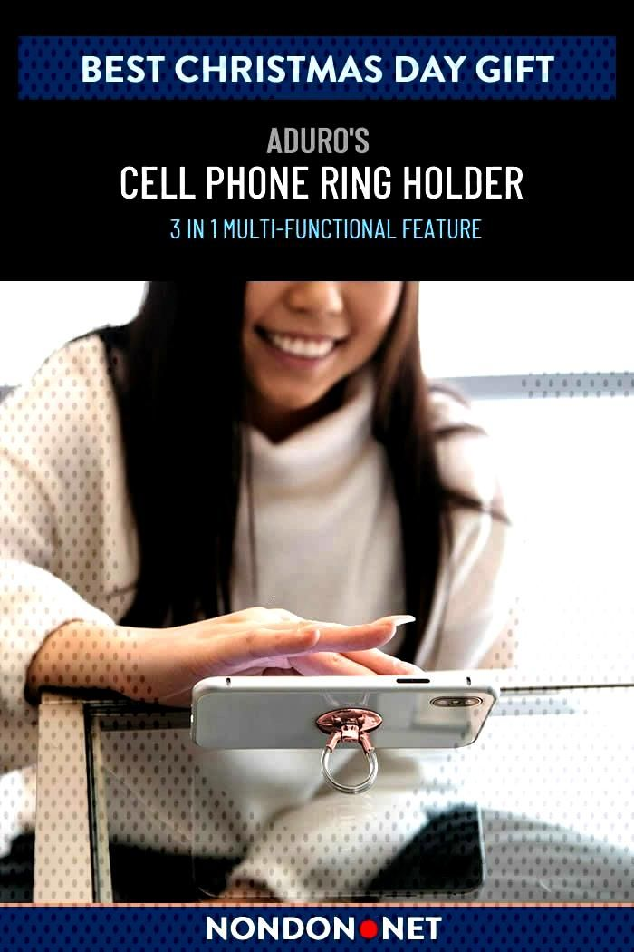 The 10 Best Christmas Day gifts for $25 or less Aduro Cell Phone Ring Holder, 3 in 1 Universal Phon