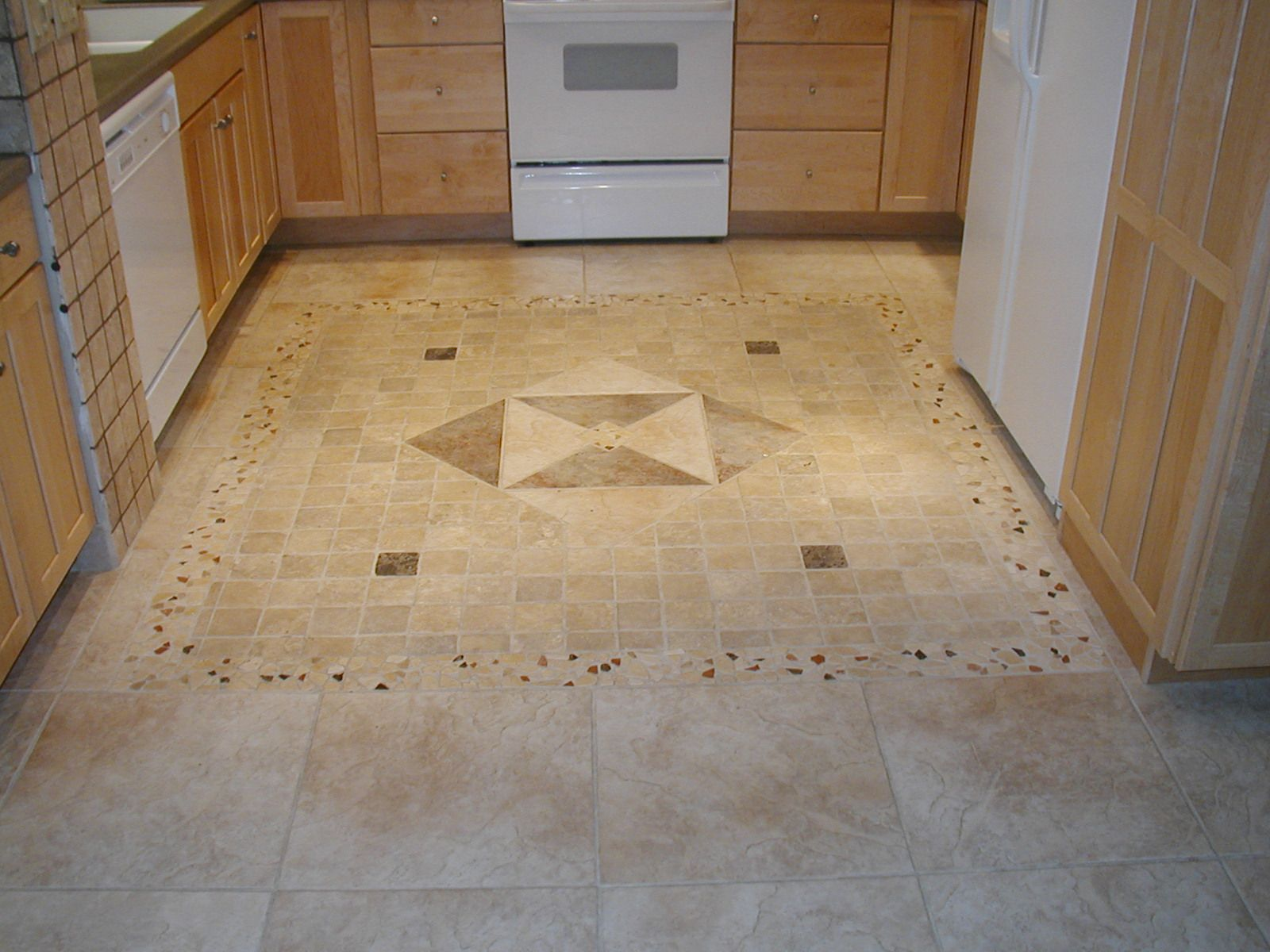 For Kitchen Flooring 17 Best Images About Floor Designs On Pinterest Foyers Kitchen