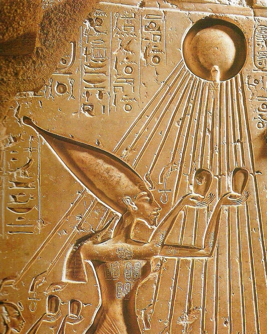 early egyptian religious beliefs and akhenatens This can also be explained as stemming from akhenaten's religious beliefs in that the  akhenaten was unknown in egyptian history until the discovery of amarna in.