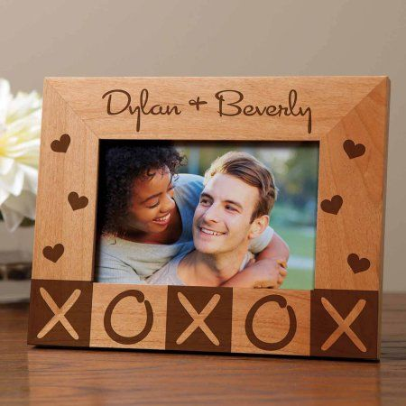 Personalized The Happy Couple Picture Frame Walmart Com In 2020 Happy Couples Pictures Love Picture Frames Personalized Picture Frames