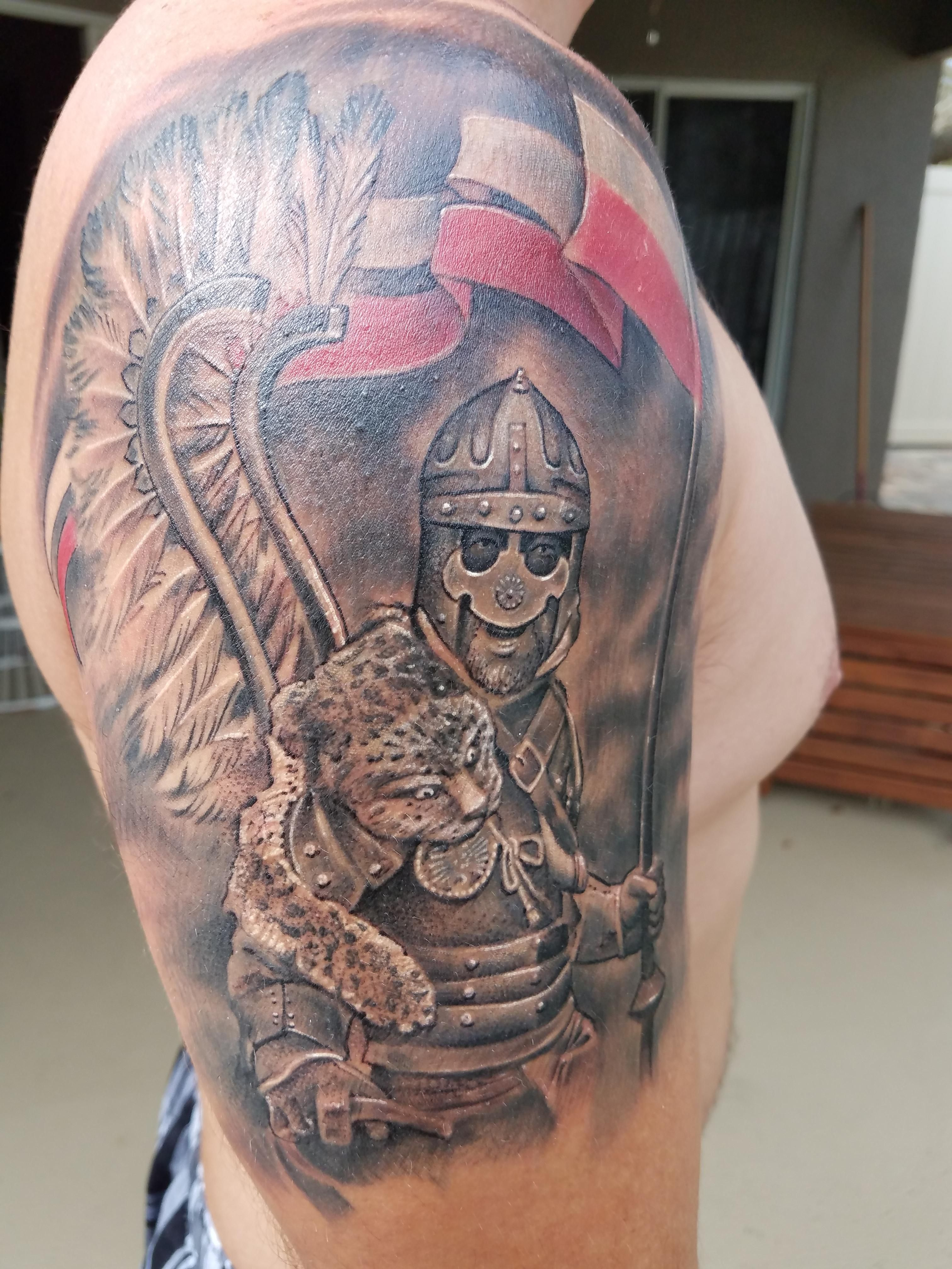Polish Winged Hussar by Justin \