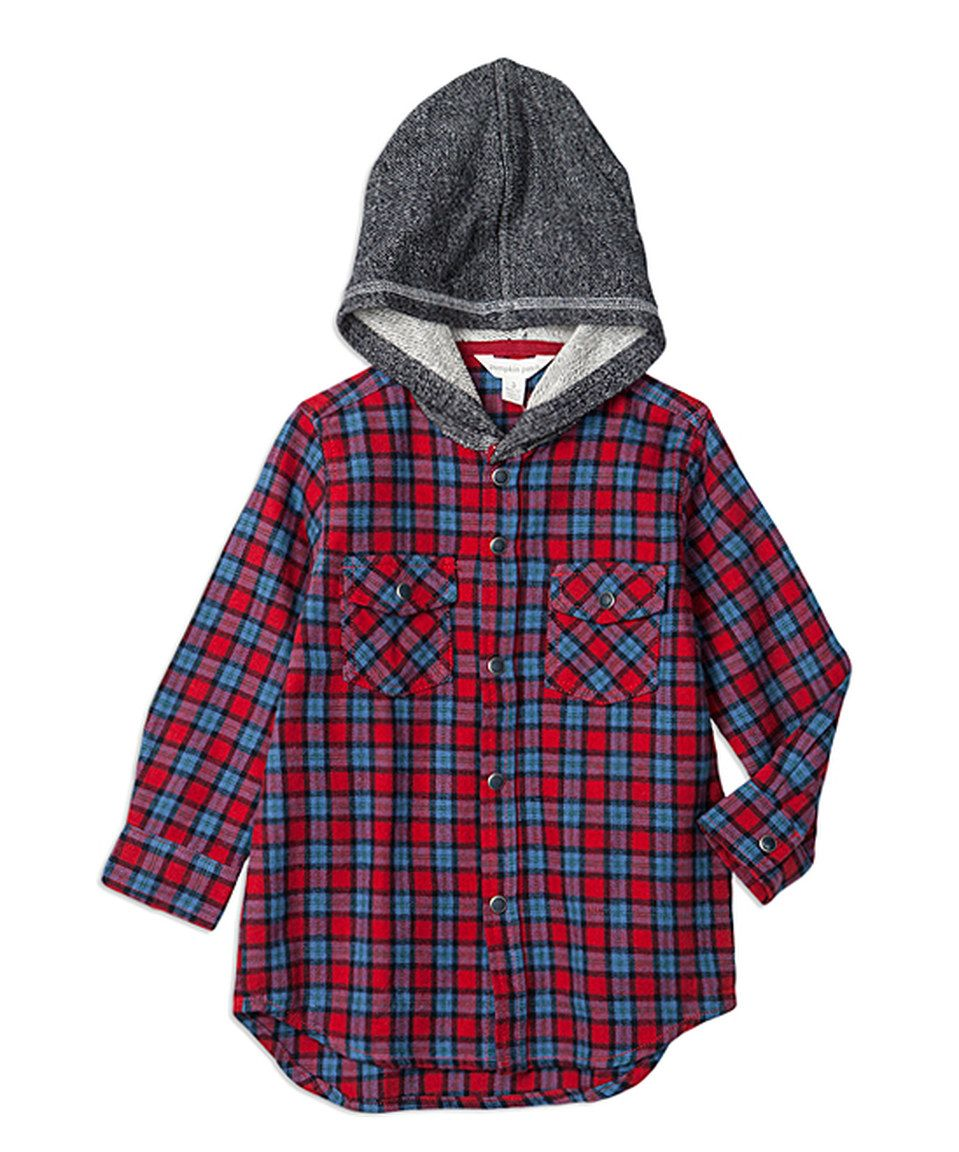 Flannel shirt cake  Loving this Pumpkin Patch Maple Red Plaid Flannel Hoodie  Infant