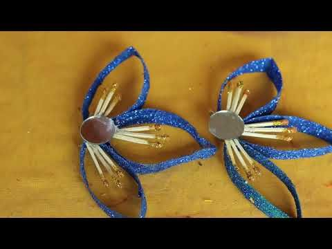 WOW! Amazing Matchstick Craft Ideas | How to Make Beaded Wall ...