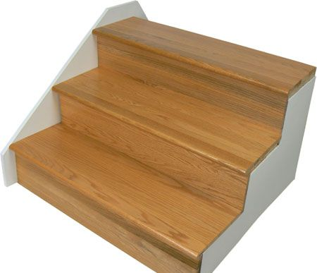 Best Golden Oak Treads And Golden Oak Risers Retro Stair 400 x 300