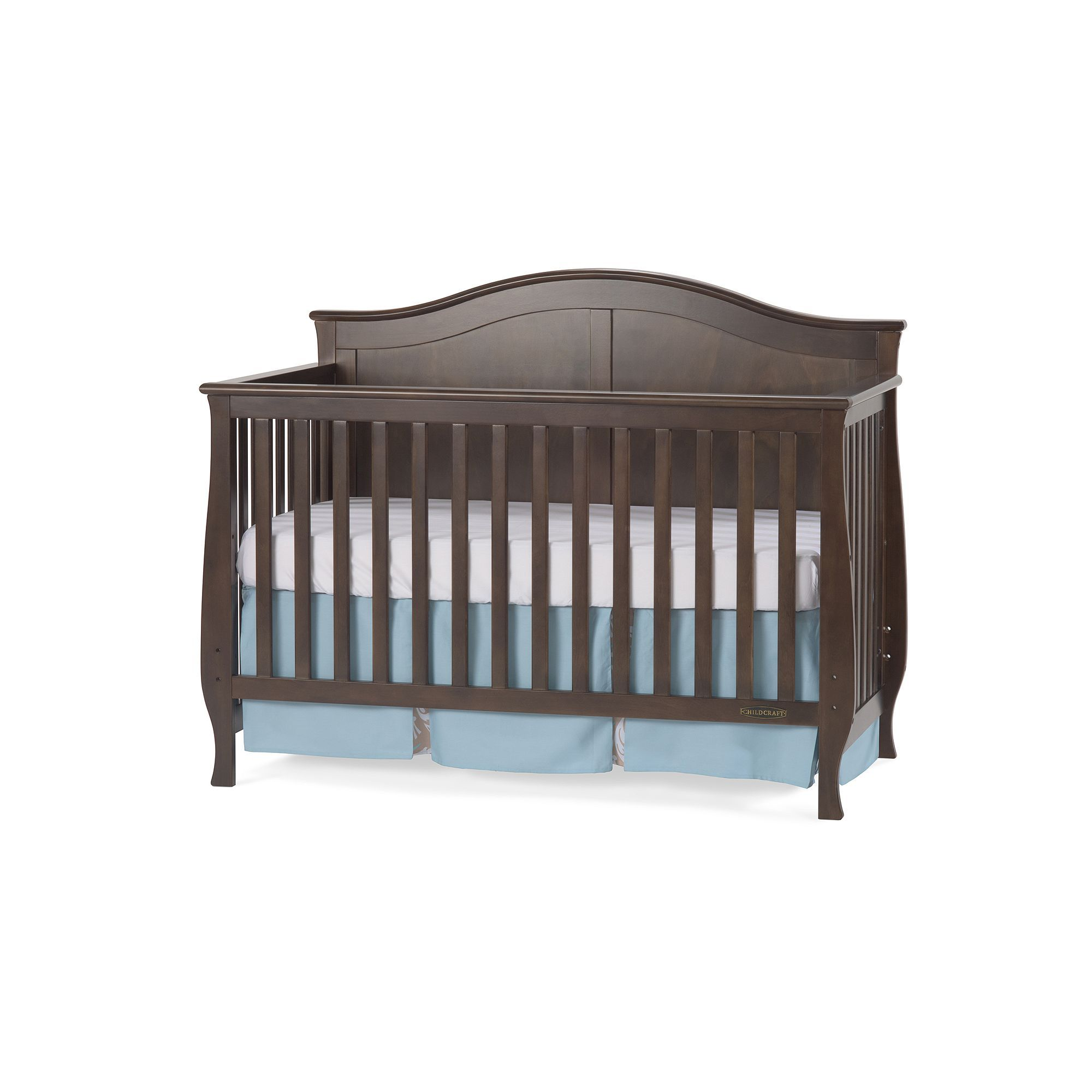 Child Craft Camden 4-in-1 Lifetime Convertible Crib, Brown ...