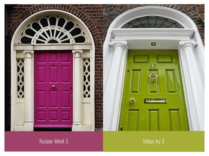 Coloured Doors Uk Colourful Front Doors For Your Inspiration