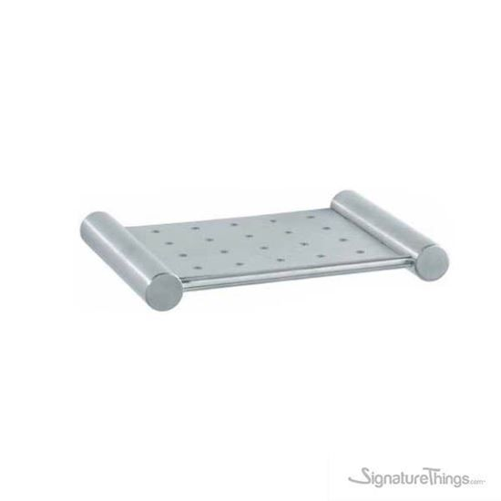 Stainless Steel Perforated Wall Shelf Stainless Steel Bathroom