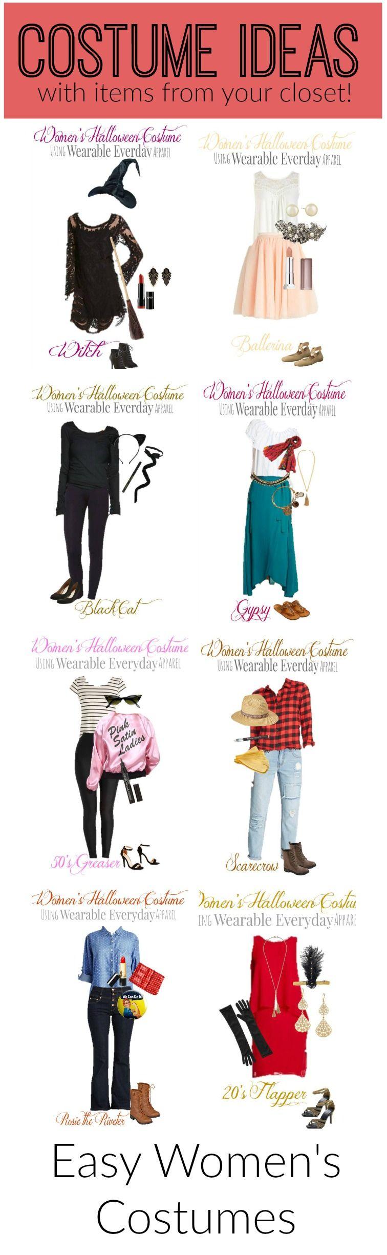 Funny Halloween Costumes Closet 2020 Closet Halloween Ideas in 2020 | Easy halloween costumes for women