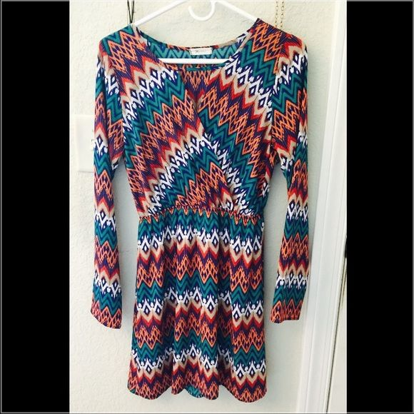 Everly Dress Long sleeve dress. Only worn once Everly Dresses