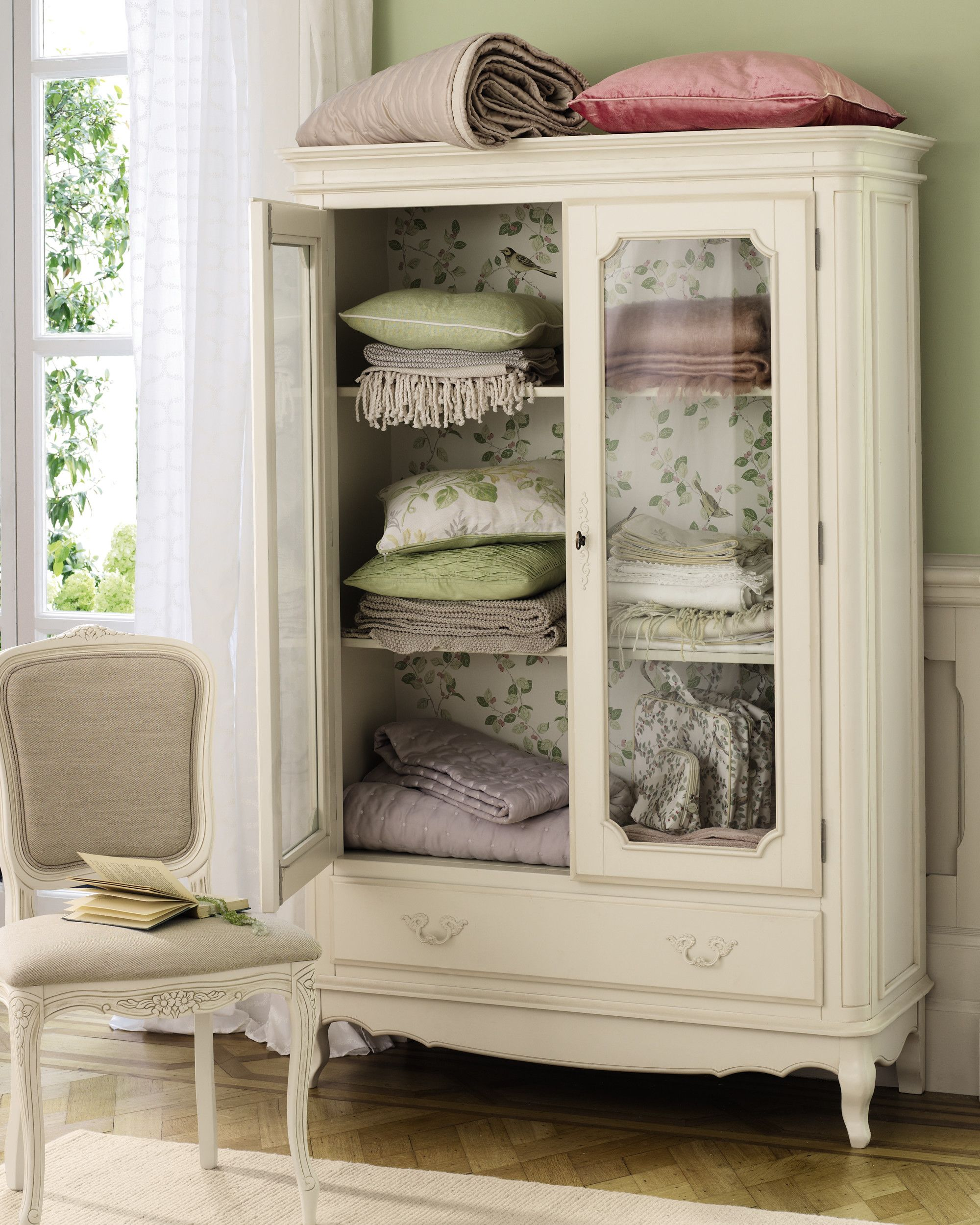 Provencale Ivory Armoire Laura Ashley
