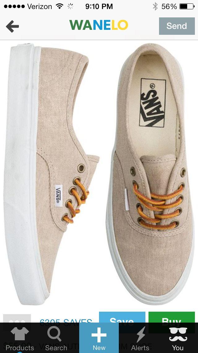 3b5e04d040fdf1 Tan vans   shoes c: en 2019   Shoes, Casual sneakers y Vans authentic