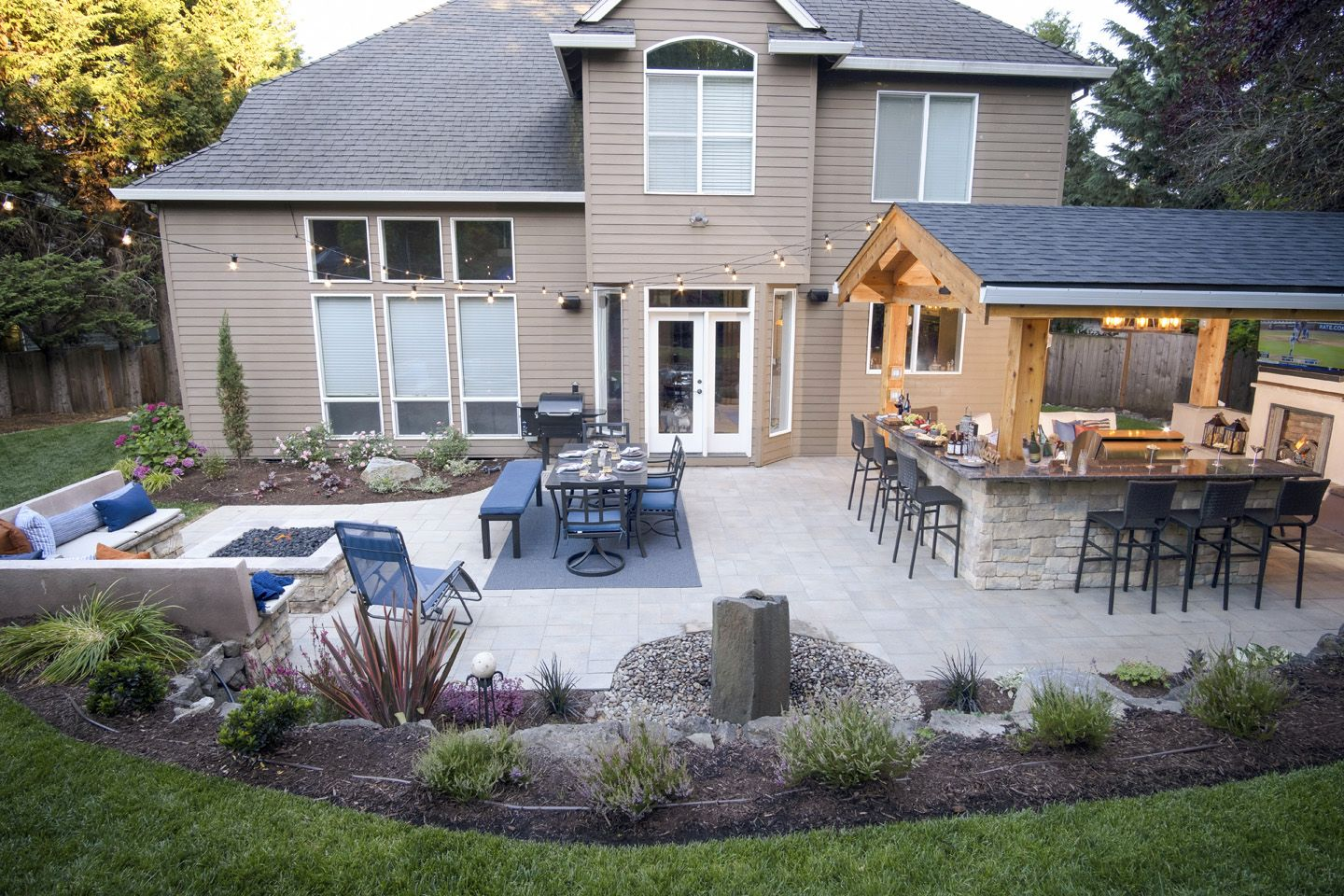 Outdoor Space - Paradise Restored Landscaping