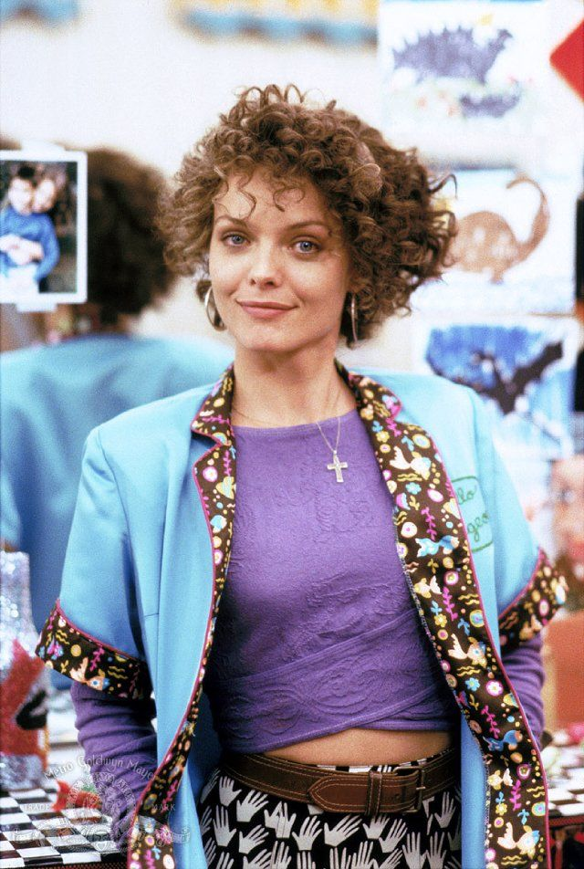 Michelle Pfeiffer had fantastic dark curly hair in Married to the ...