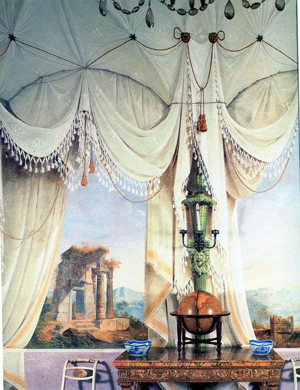Frescoes Murals Trompe L Oeil Part I Mural Trompe L Oeil Mural Painting