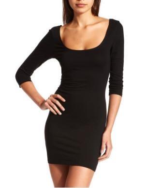 little black dress :) -Charlotte Russe