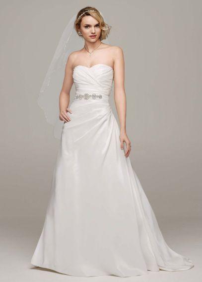 Taffeta a line wedding dress with sweetheart neck wg3243 the taffeta a line wedding dress with sweetheart neck wg3243 junglespirit Choice Image