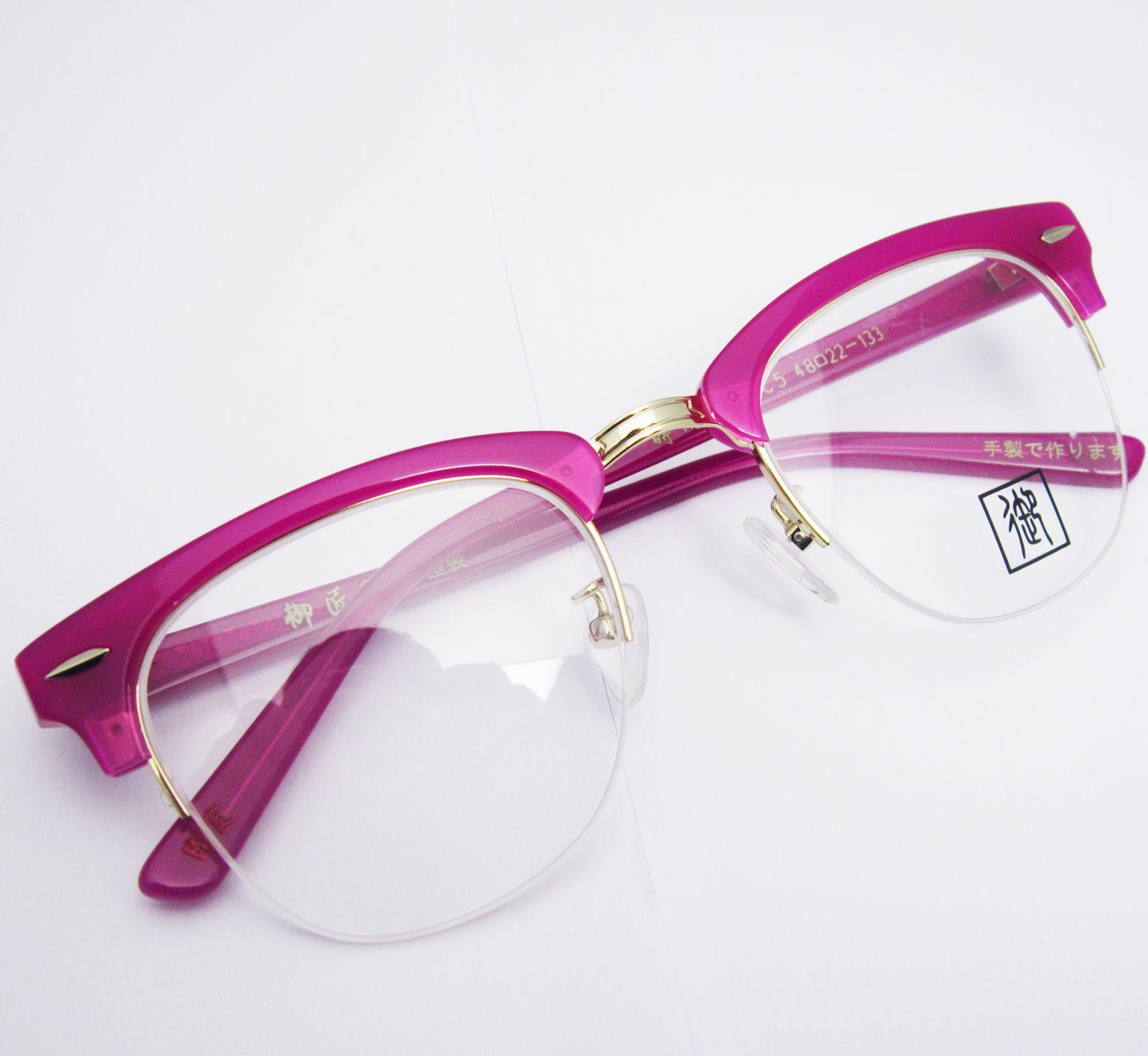 womens vintage retro brow line shurons roseo purple eyeglass frames spectacles ebay - Ebay Eyeglasses Frames