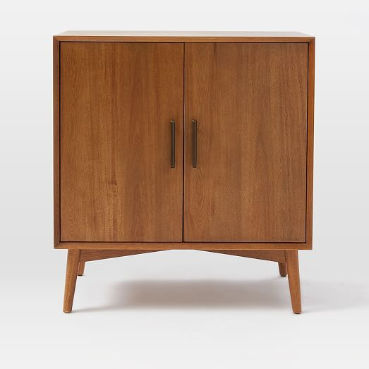 Mid Century Bar Cabinet Small In 2020 Mid Century Bar Cabinet
