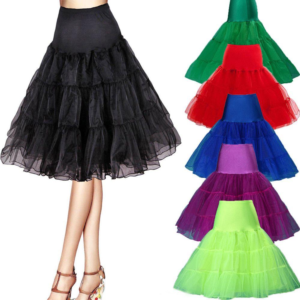 Summer Short Organza Petticoat Crinoline Jupon Wedding Bridal Petticoat  Wedding Accessories Reifrock Underskirt Rockabilly Tutu 9e23ae910bf3