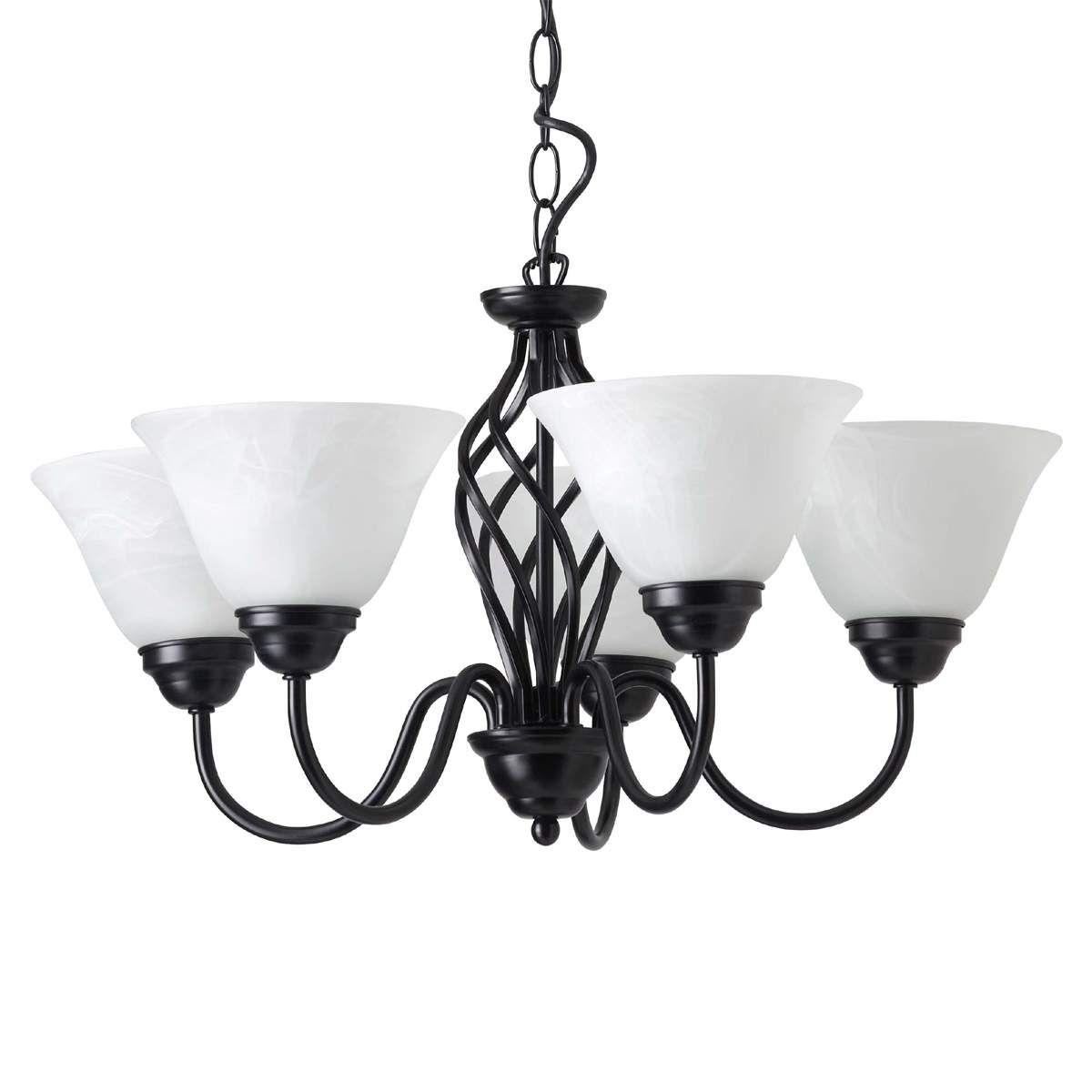 Deckenleuchte Corentin 5-fl Deckenlampe Klassisch Lampenwelt Esszimmer Leuchte