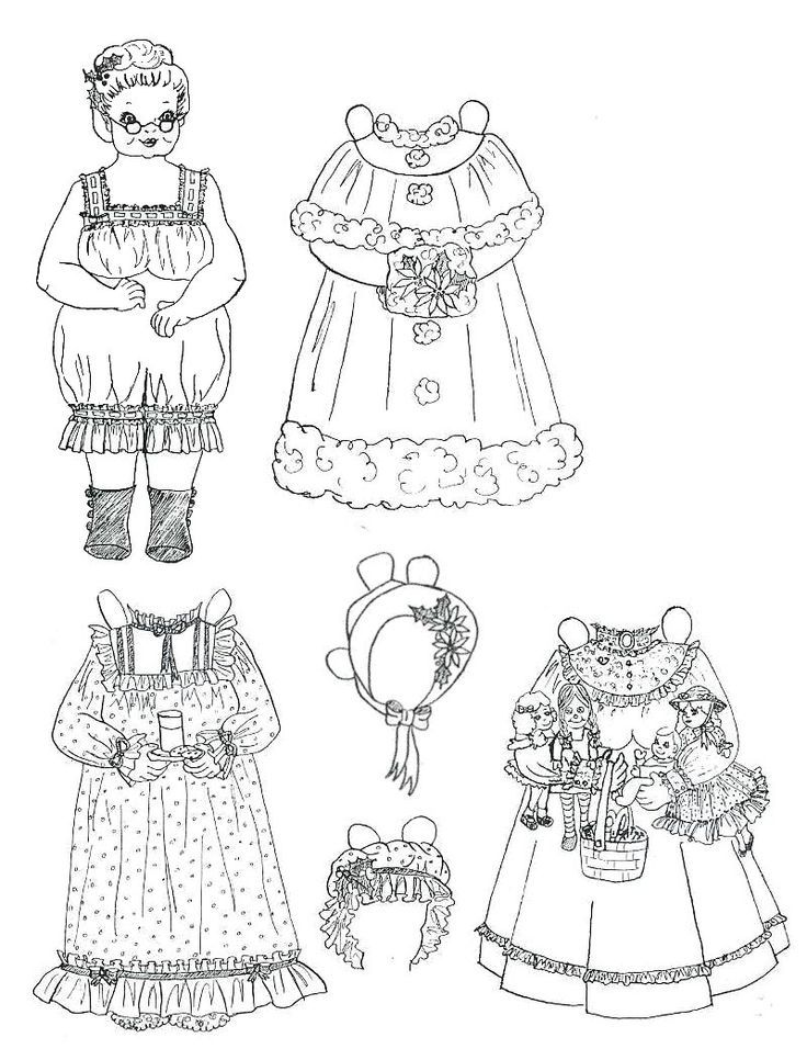 Pin by Maria Chunn-Petrie on another paper dolls (With
