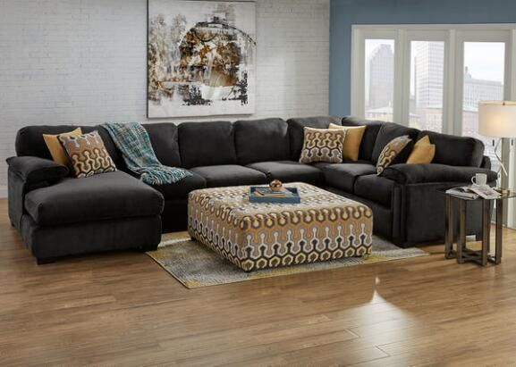 Luxor 3 Pc. Sectional W/Armless Sofa (Reverse)