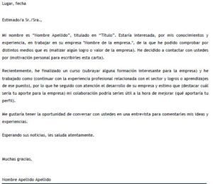 Carta De Autocandidatura En Word Carta De Motivacion Laboral Carta De Presentacion Laboral Carta De Presentación