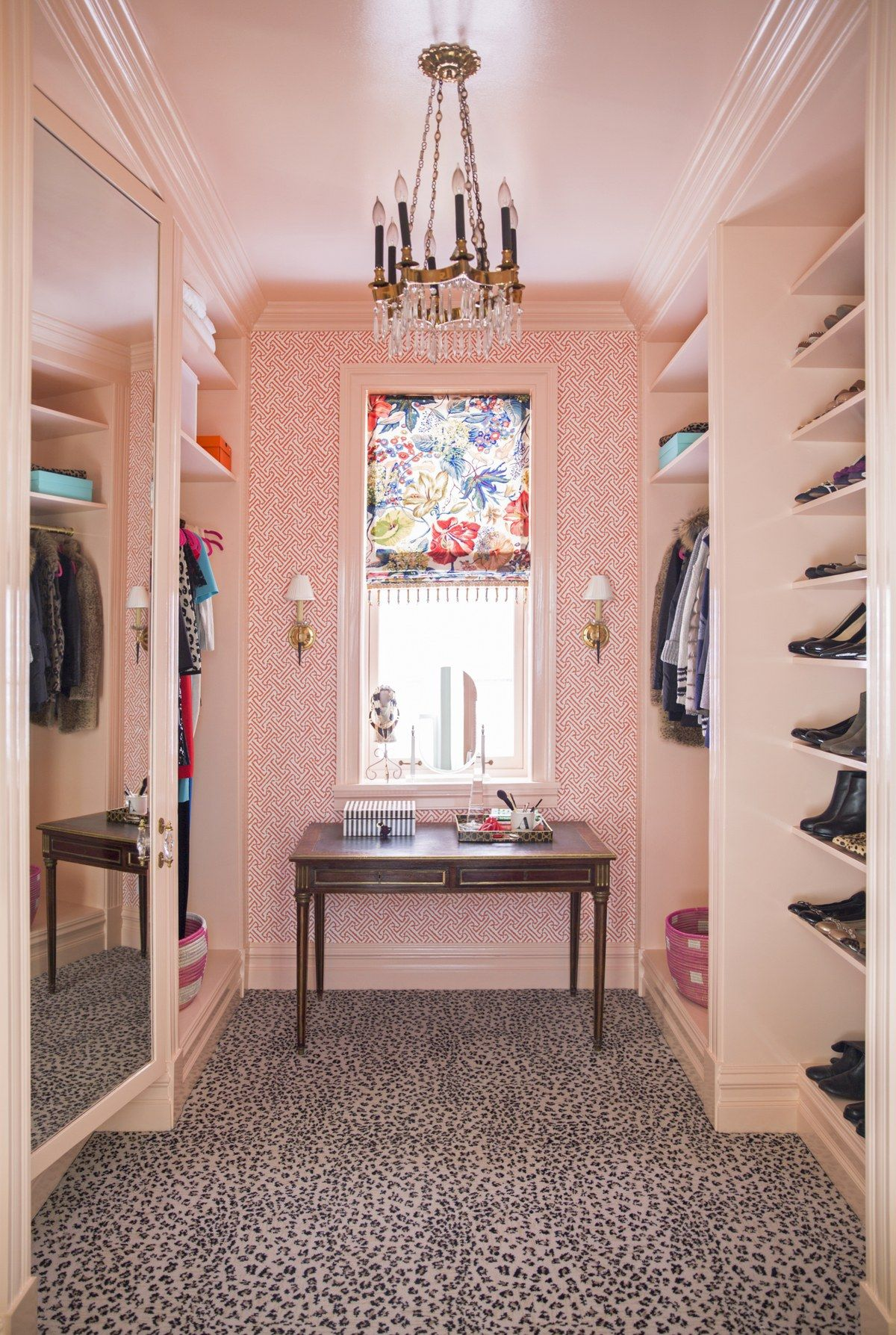 Pink Paint Room Ideas And Inspiration Pink Closet Dressing Room