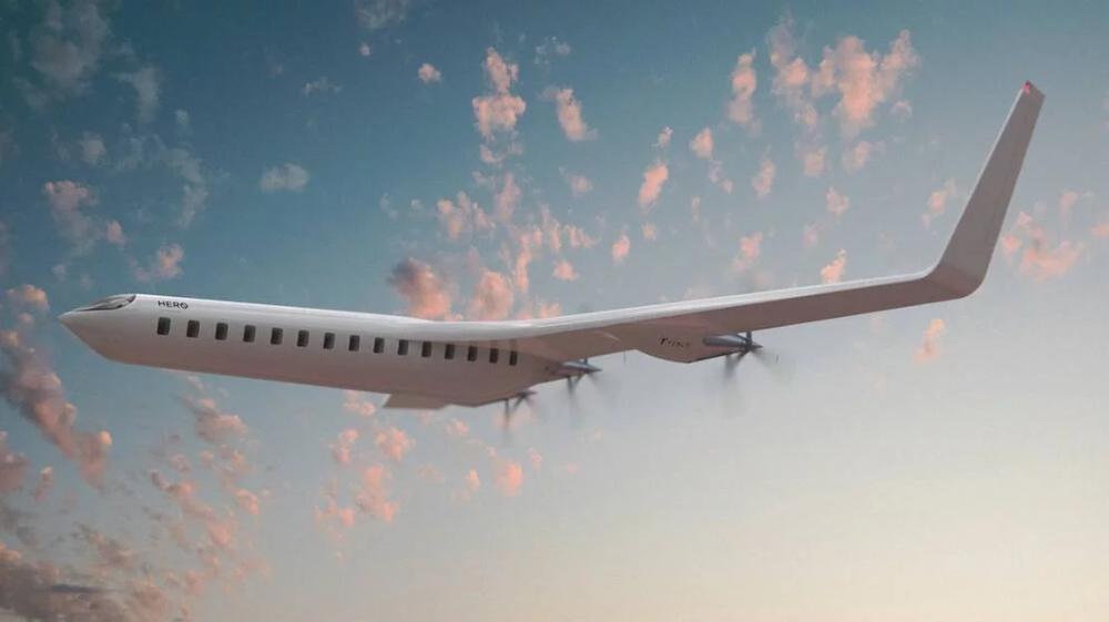 HER0 Zero Emission Passenger Plane wordlessTech in 2020