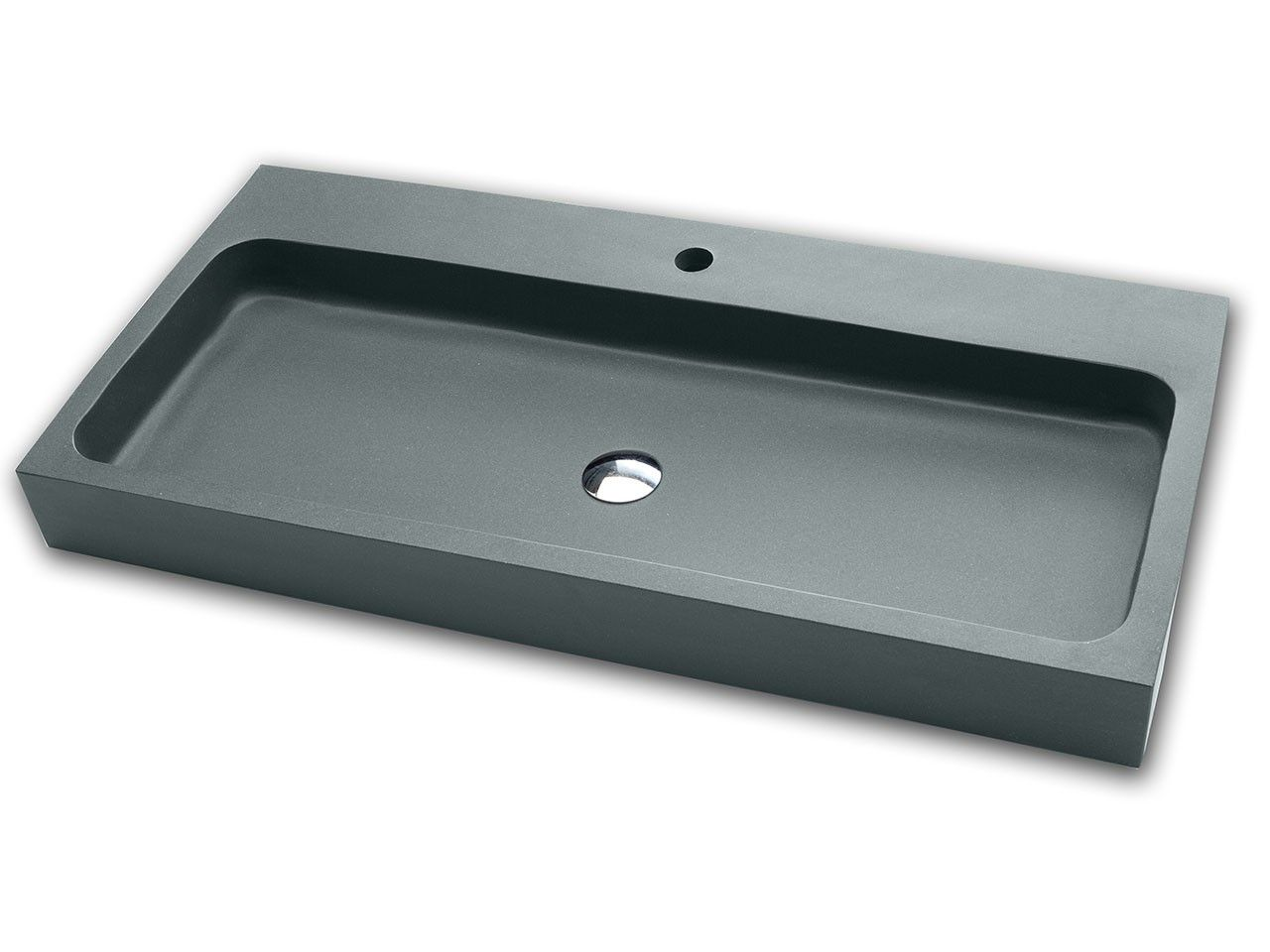 Arredamento grigio ~ Lavabo d arredo ponza resina grigio iperceramica lavabi