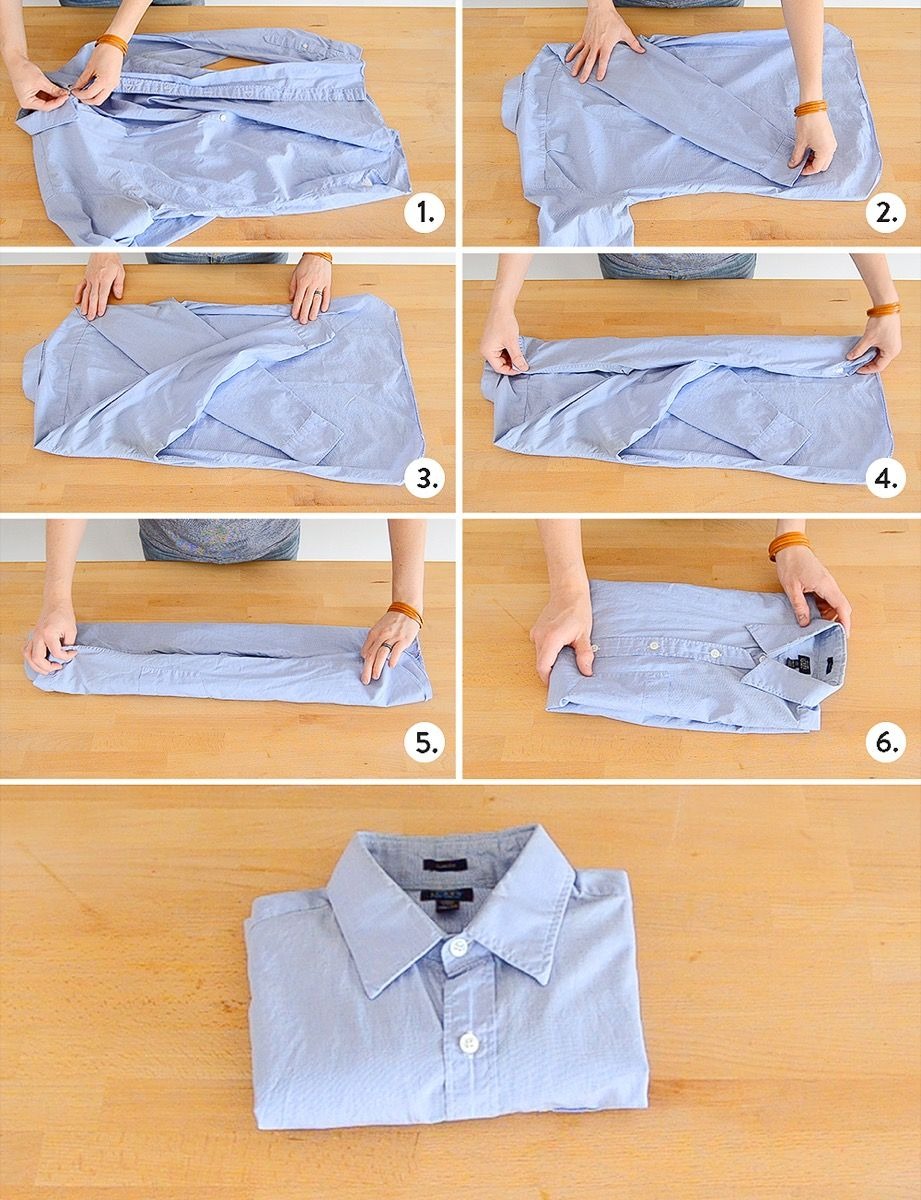 How to Fold Everything in Your Dresser