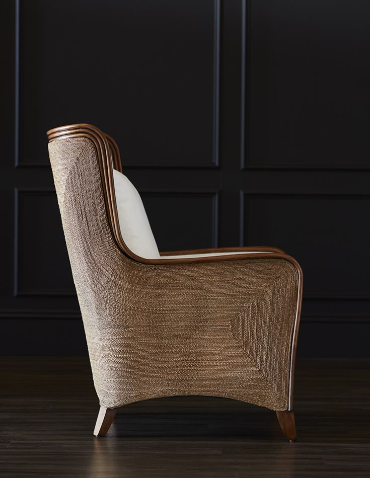 PALECEK KINGSTON WING CHAIR Hardwood Frame And Legs With