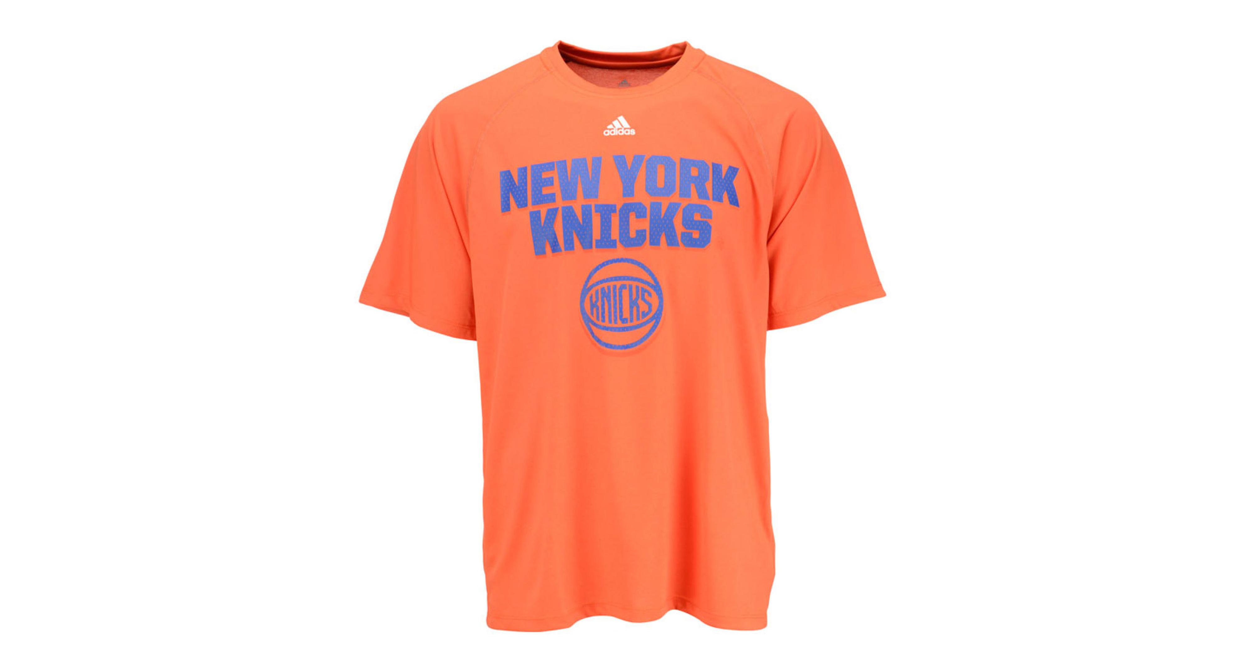 9bd1e4fa05207 New York Knicks Climalite T Shirt | Toffee Art