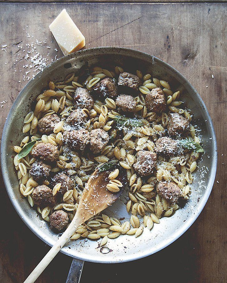 The only thing cozier than a big bowl of pasta is a big bowl of fall pasta. Something about the combination of carbs and butternut squash, sage, brussels sprouts, and more autumnal ingredients makes you want to curl up on the couch and indulge in a helping (or two) of comfort food. From butternut squash carbonara to creamy stovetop pumpkin macaroni and cheese, these are the fall pasta recipes you'll turn to all season long.